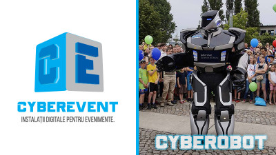 Memorabilitate si engagement la evenimente, cu instalatiile digitale Cyber Event