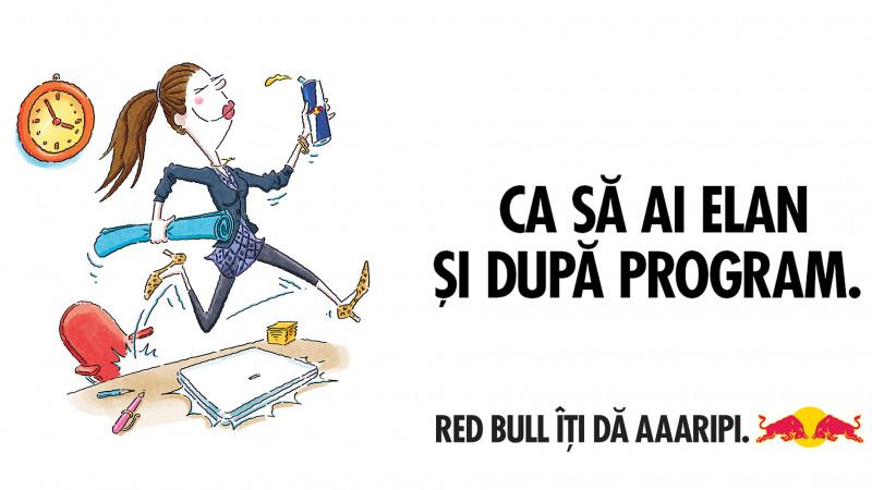 Red Bull cheama toti corporatistii sa fie #GataLa4 pe 21 iunie!