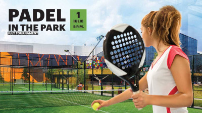ParkLake Shopping Center și World Class invită bucureștenii la campionatul de padel al verii