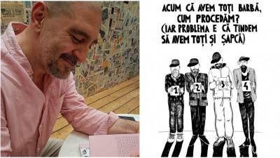 Care-i kestia cu Răzvan Exarhu, într-o carte cu coperte roz