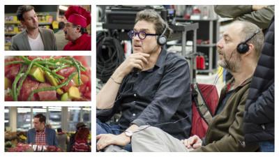 """Maeștri gastronomi iviți printre rafturile Selgros. Despre lucrul la campania """"De aici cumpără profesioniștii"""", Lucian Georgescu (GAV) și Alexandru Maftei"""
