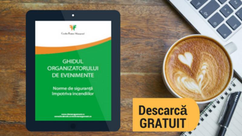 CreativeBM lansează un ghid legislativ pentru organizatorii de evenimente