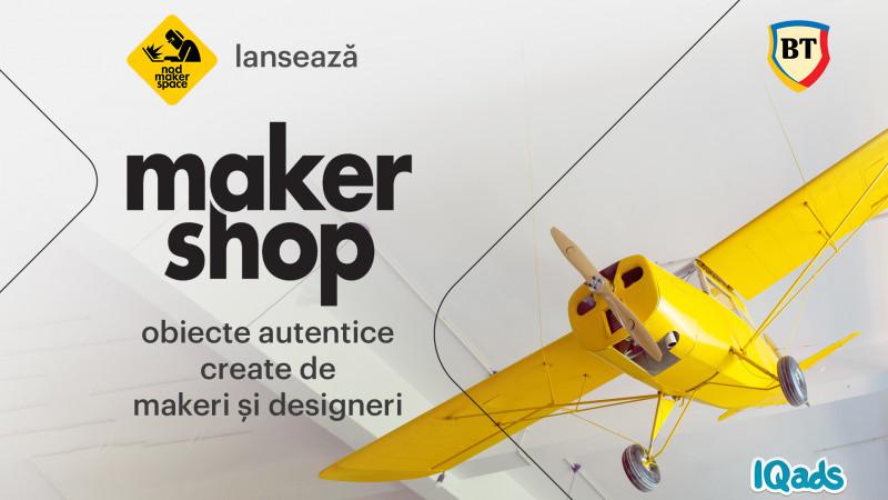 NOD Makerspace lansează makershop.ro