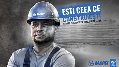 Mapei România și Armada susțin că ești ceea ce construiești