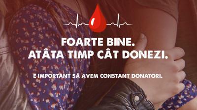Mega Image intră pe traseul donatorului de sânge printr-o campanie dedicată
