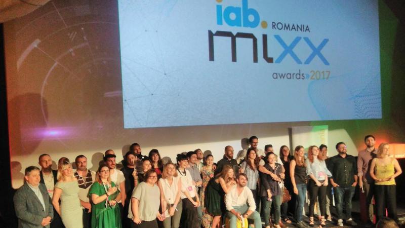 S-au desemnat câștigătorii galei IAB MIXX Awards România Golin & MullenLowe câștigă Grand Prix – Best Digital MIXX 2017