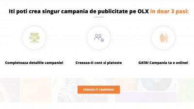 OLX lanseaza un serviciu nou, dedicat antreprenorilor care vor sa isi promoveze afacerea. Utilizatorii isi pot gestiona propriile campanii de publicitate