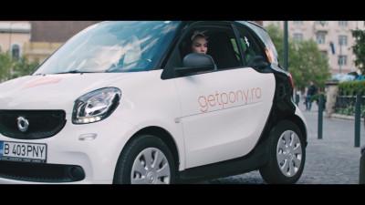 Marks comunică integrat pentru GetPony, primul serviciu de car sharing din România
