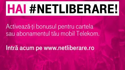 Telekom România declară #UNTOLDLIBERARE cu Telekom Radio în aplicația UNTOLD şi 100 GB bonus pentru clienţii de mobil