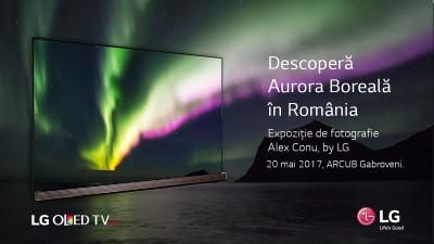 În luna mai, aurora boreală s-a văzut în România