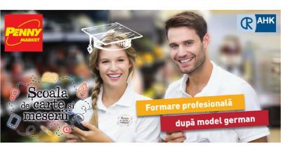 Penny Market lansează Școala de Carte și Meserii, un nou program care susține educația duală în România