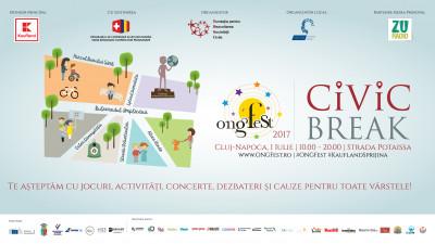 Clujenii pleacă în ONGFest Civic Break