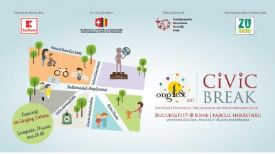 Bucureștenii pleacă în ONGFest Civic Break