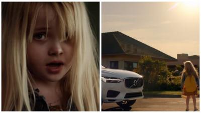Momentul ăla când Volvo trimite o copilă singură la școală, în prima ei zi