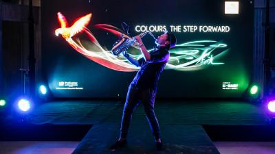 O explozie de culori, într-un eveniment Policolor, organizat de Zaga Brand