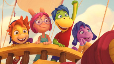 """Rezultatele """"Aventurilor lui Dino"""": serialul de desene animate dezvoltat exclusiv pentru mediul online din România"""