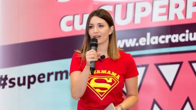 """Două milioane de persoane au fost ancorate în online de campania """"Super mame cu super puteri"""""""