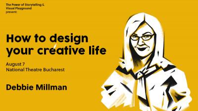 Cum îți construiești o viață creativă - o seară cu Debbie Millman pe 7 august, la Teatrul Național București