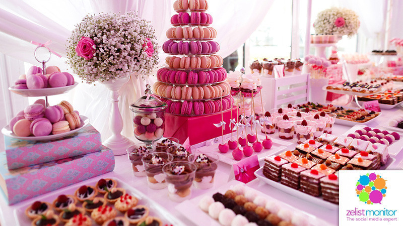 Cele mai vizibile branduri de dulciuri in online si pe Facebook in luna iunie 2017