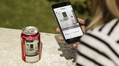 """Coca-Cola - """"Coca-Cola Instacans"""""""