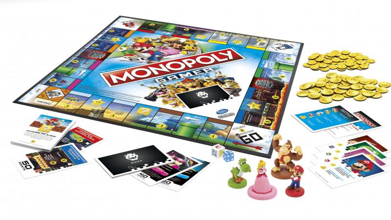 Monopoly și Mario își unesc forțele pentru prima dată