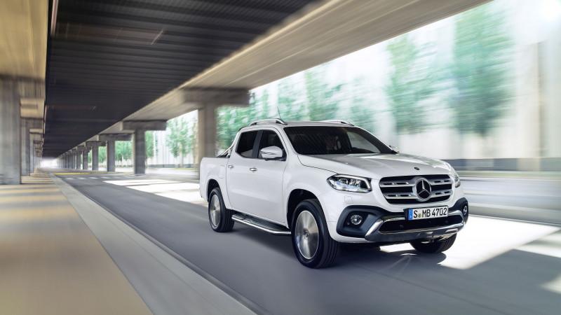 Primul pickup lansat de un producător auto premium. Pickup cu valențe lifestyle - Mercedes-Benz Clasa X