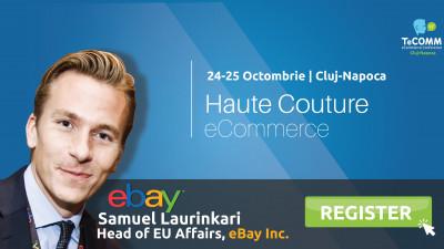 Liderul global eBay vine în premieră la TeCOMM Cluj