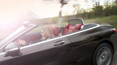 """Driving Performance"": Simona Halep va conduce un Mercedes-AMG S63 4MATIC Cabriolet pe durata sezonului cald"