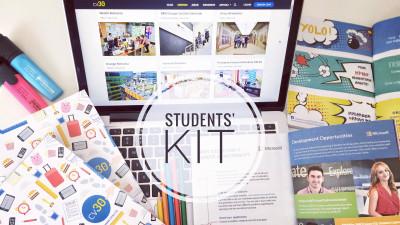 cv30 lansează o nouă ediție Students' Kit, campania care conectează studenții și companiile