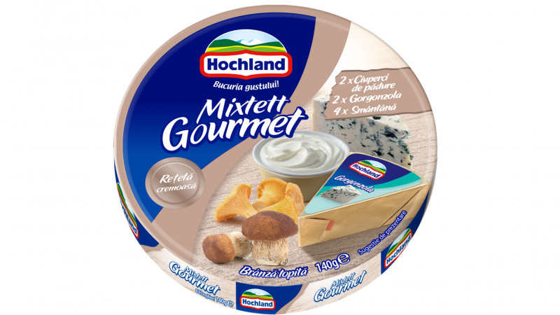 Hochland Mixtett te provoacă să descoperi noul Mixtett Gourmet