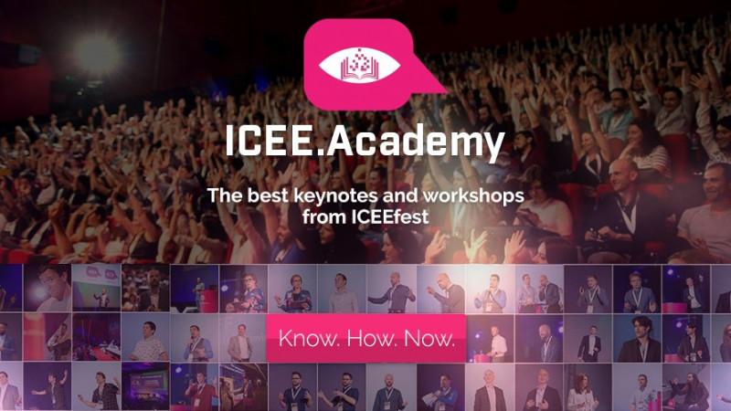 S-a relansat iCEE.academy: platforma de e-learning a comunității festivalului iCEE.fest este disponibilă acum atât în format web cât si ca aplicație pentru smartphone
