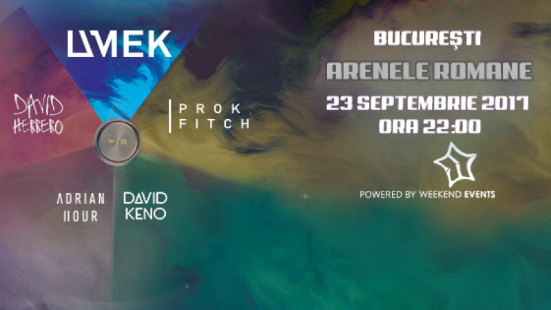 Legendarul UMEK, alături de patru DJi internaționali, va juca ruleta rusească la București