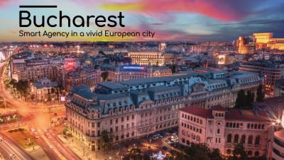 The Mansion Advertising – parte a echipei de promovare a candidaturii României pentru relocarea EMA