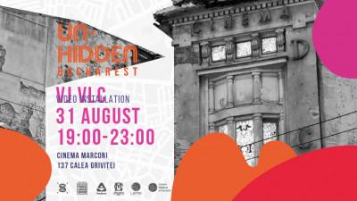 Un-hidden Bucharest @ Cinema Marconi VJ VLC - INTERVENȚIE ARTISTICĂ // SEMNAL URBAN