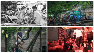[Regenerare urbană] Povestea J'ai Bistrot. De la o sufragerie de casă boierească din Târgu Mureș la o terasă cu nisip în București