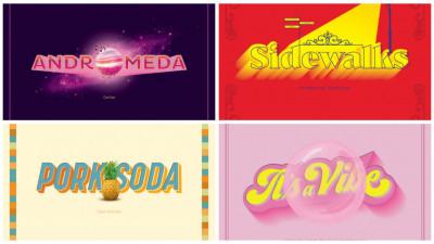 Muzică + typography egal lăv