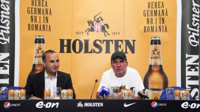 Holsten devine partener al campioanei României la fotbal, FC Viitorul Constanța