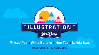 """S-a lansat """"Illustration Boot Camp"""", un program complet de pregătire pentru o carieră în ilustrație"""