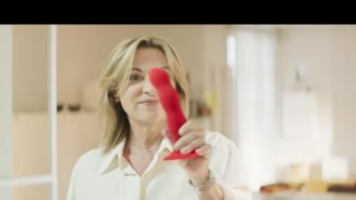 Prima jucărie sexuală în calupul publicitar din Italia