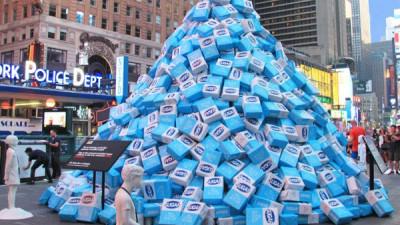 O piramidă cu zahărul care nu se vede