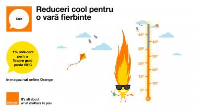 Orange și Profero propun reduceri cool pentru o vară fierbinte
