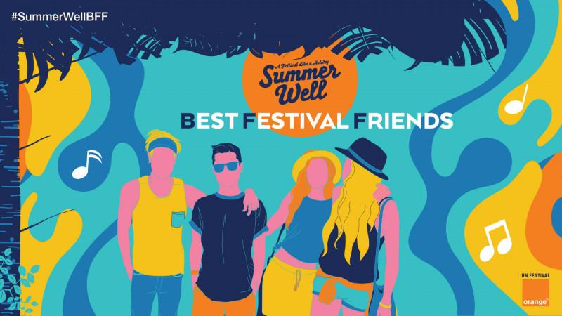 Orange şi Profero premiază prieteniile de festival, prin #SummerWellBFF