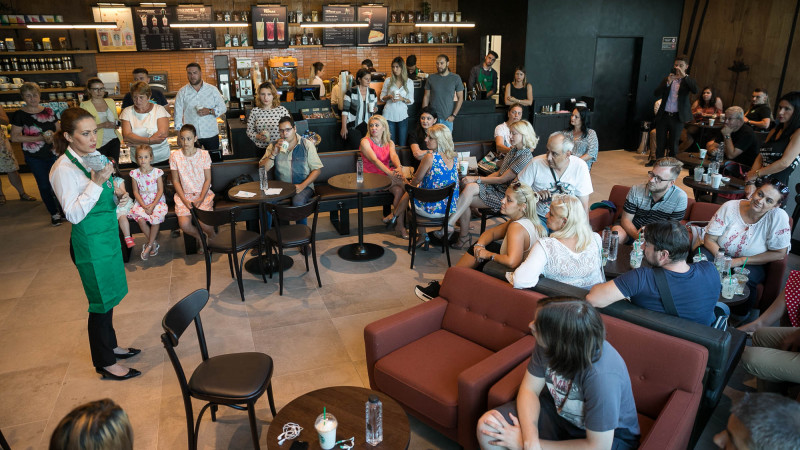 Starbucks se extinde și deschide a doua cafenea din Ploiești