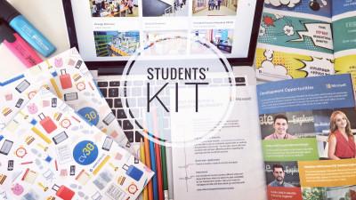 Students' Kit by cv30 aduce brandurile mai aproape de studenți