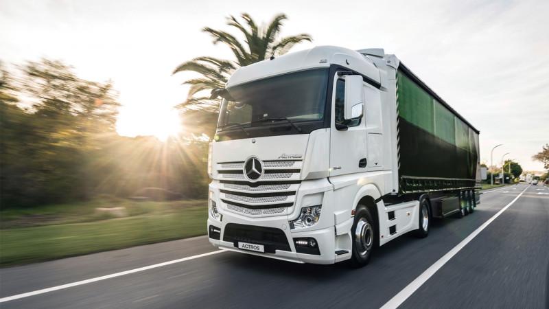 Autocamioane rulate la prețuri avantajoase prin campania Truck'n'Lease lansată de Mercedes-Benz România şi Mercedes-Benz Financial Services