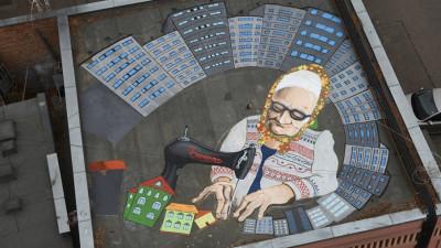 Artiști și uriașii lor, pe acoperișurile din Pantelimon