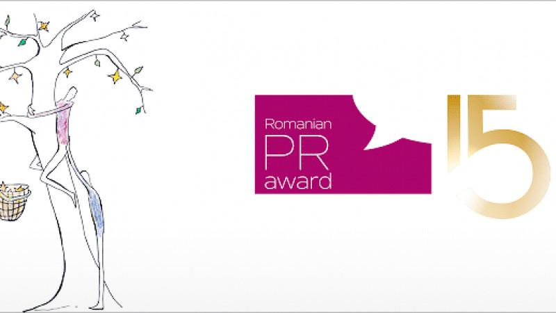 Romanian PR Award la cea de-a 15-a aniversare