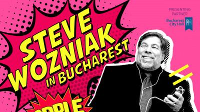 Co-fondatorul Apple, brandul nr 1 in lume, Steve Wozniak, vine la Conferinta Globala IAA