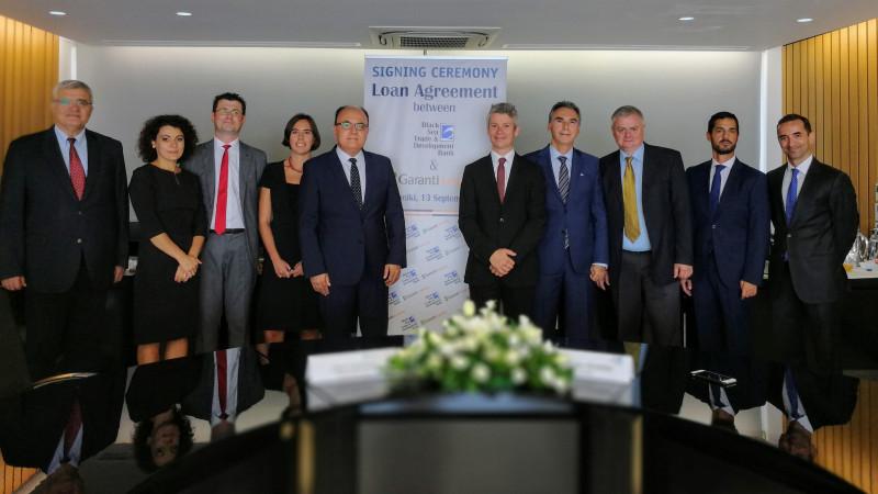 Garanti Leasing încheie un acord de finanţare de 10 milioane de euro cu Black Sea Trade and Development Bank