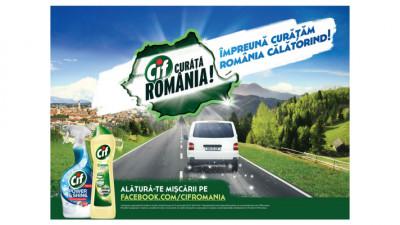 CIF şi MullenLowe prezintă jurnalul de bord al programului Împreună Curățăm România Călătorind